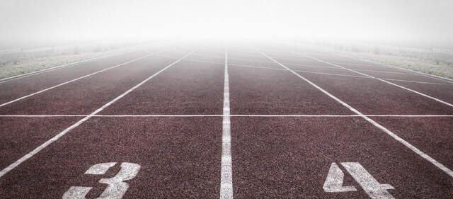 set goal running track