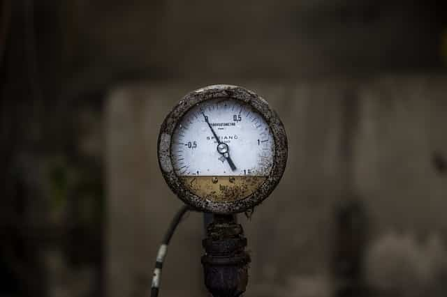 repressed gauge - pressure