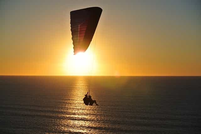 therapeutic relationship paragliding parachute
